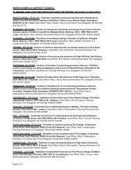 Planning & Treeworks applications 14 November - North Norfolk ...