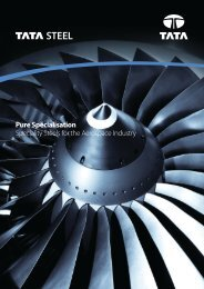Pure Specialisation - Tata Steel
