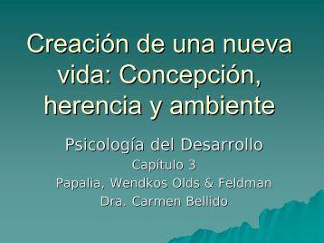 Formación de una nueva vida: Concepción, herencia y ... - PageOut
