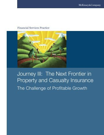 Journey III: The Next Frontier in Property and Casualty Insurance