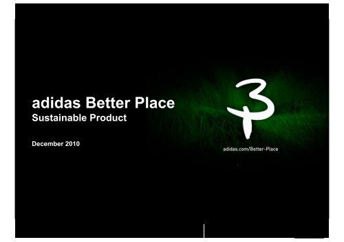 timeless design bc190 d099b Alexis Olans, Adidas - LCA Sustainable Product Design Europe ...
