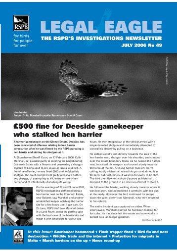 Legal Eagle 49 - RSPB