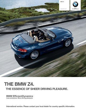 THE BMW Z. - Automobile BMW