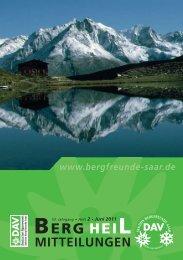 Berg Heil 2 / 2011 - Bergfreunde-Saar
