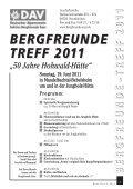 Berg Heil 2 / 2011 - Bergfreunde-Saar - Page 5