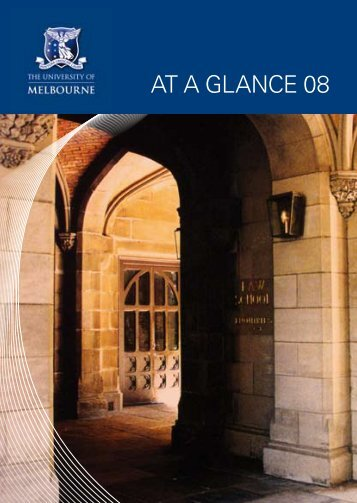 AT A GLANCE 08 - University of Melbourne
