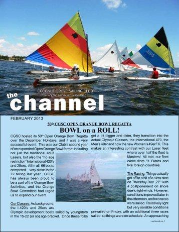 February 2013 - Coconut Grove Sailing Club