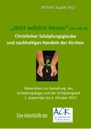 """""""Jetzt wächst Neues"""" (Jes 43,19) - ACK-NRW"""