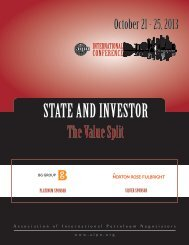 STATE AND INVESTOR - AIPN