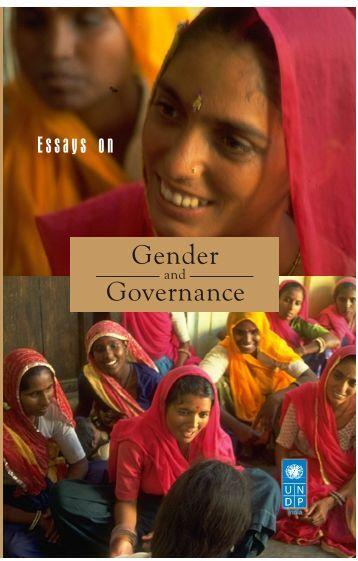 Essays On Gender And Governance - United Nations Development ...