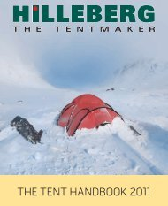 the tent handbook 2011 - Hilleberg