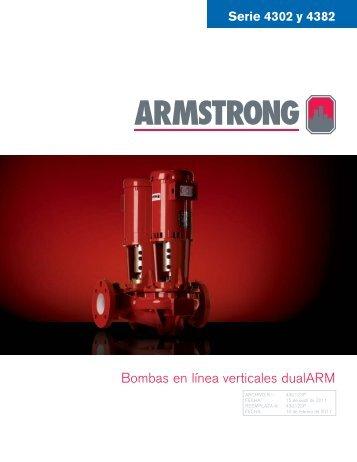 Bombas en línea verticales dualARM - Armstrong Pumps