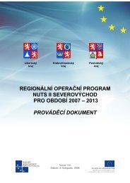 Operační program - Královéhradecký kraj