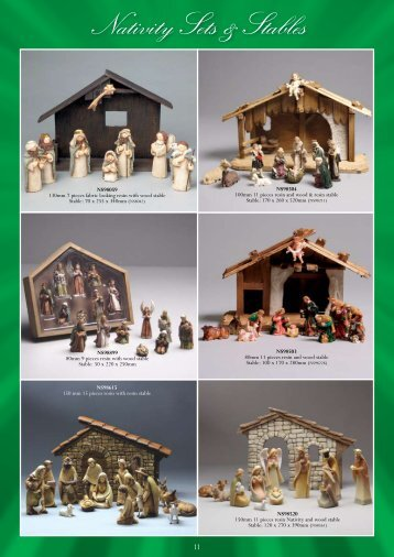 y Sets Nativity Sets & Stables - Christian Supplies