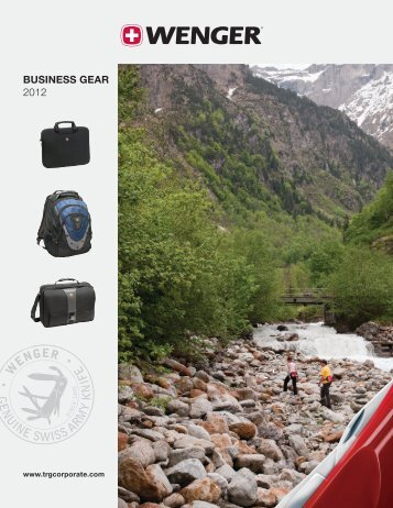 TRAVEL, BUSINESS & OUTDOOR GEAR 2012 ... - TRG Group