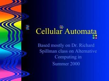 Cellular Automata Rules