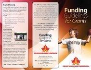 Funding - Sask Sport Inc.