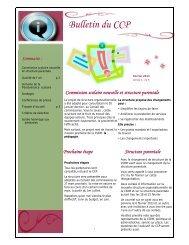 Bulletin du CCP, février 2013 - Commission scolaire de Montréal