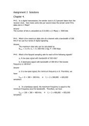 Assignment 2 Solutions Chapter 4.