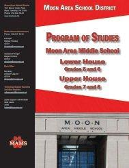 2012-2013 Moon Area Middle School Program of Studies