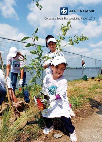 Corporate Social Responsibility Report 2011 - CSR in Greece