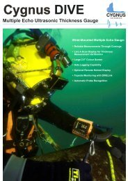 Cygnus DIVE Brochure Alt Layout 2 - UK