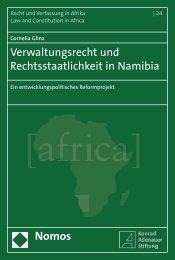 Verwaltungsrecht und Rechtsstaatlichkeit in Namibia - Nomos Shop