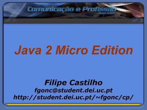 Java 2 Micro Edition \(J2ME\)