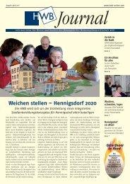 PDF HWB-Journal April 2007 - h e n n i g s d o r f . d e