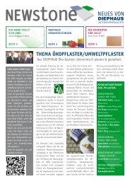 Thema ökopflaster/Umweltpflaster - Diephaus