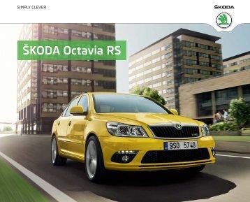 ÅKODA Octavia RS