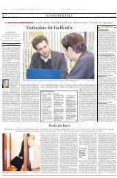 Marktplatz für Fachkräfte - Berliner Karrierebörse