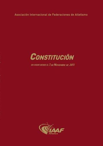 Constitución de la IAAF - RFEA.es