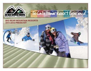 Press Kit - Big Bear Mountain Resorts