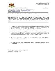 marpol annex iv - reg - Jabatan Laut Malaysia