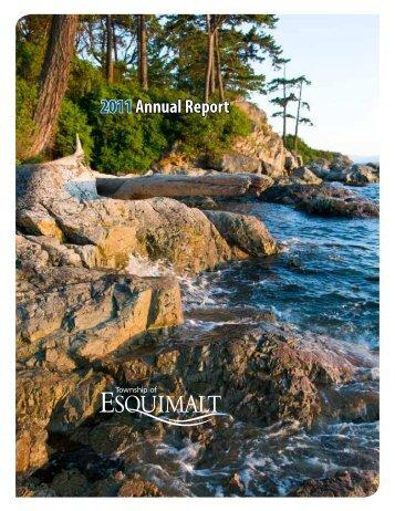 2011 Annual Report - Township of Esquimalt