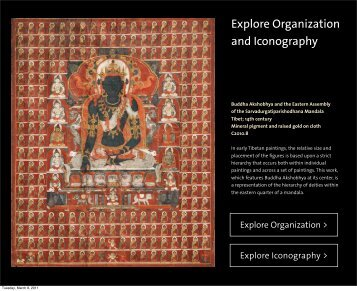 Explore Organization and Iconography