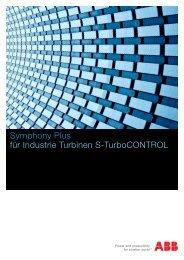 Symphony Plus für Industrie Turbinen S-TurboCONTROL