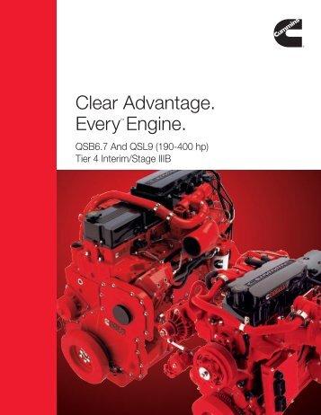 QSB6.7 - Cummins Engines