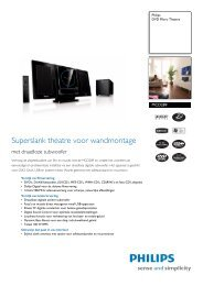 MCD289/12 Philips DVD Micro Theatre - Hardware