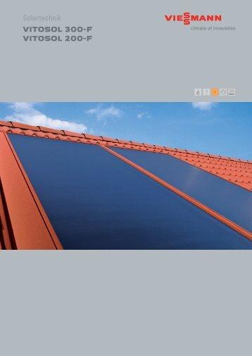 Solartechnik VITOSOL 300-F VITOSOL 200-F