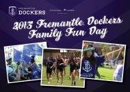 2013 Fremantle Dockers Family Fun Day - Fremantle Football Club