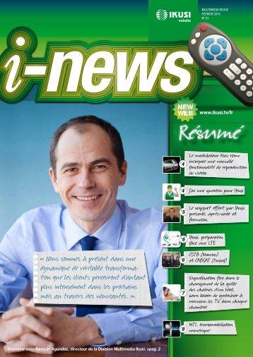 Nous sommes à présent dans une dynamique de ... - IKUSI Multimedia