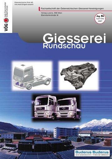 9/10 - Verein österreichischer Gießereifachleute