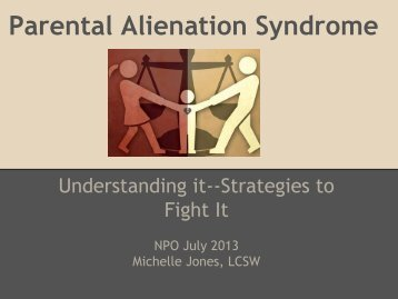 issue of parental alienation syndrome Alienation and parental alienation syndrome in the following cases, a higher court affirmed a lower's court's ruling based, in part, on findings regarding allegations of parental alienation my explanatory text is italicized and blue.