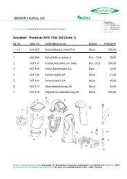 Ersatzteil - Preisliste 2010 / 644 255 (Seite 1) - Ekastu