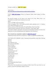 The Best Car OBD Tool - OBD2 WiFi Adapter.pdf
