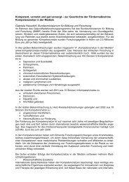Statement Dr. Gabriele Hausdorf - Kompetenznetz Maligne Lymphome