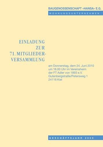 Download (PDF-Datei 1.141 KB) - baugenossenschaft hansa eg
