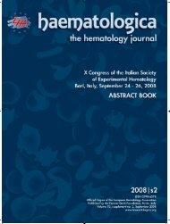 Haematologica 2008;93:supplement no. 2